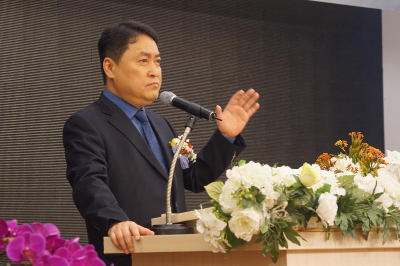 대구불교총연합회 2대 신임회장 (서중호) 취임법회 봉행