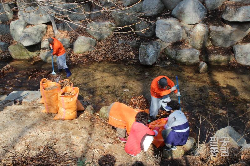 3월 봉사활동 -깨끗한 팔공산 만들기 -