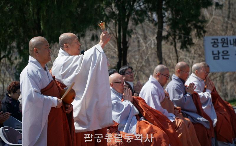 대구시립공원묘지 무연고영가 5천위 합동천도재 봉행